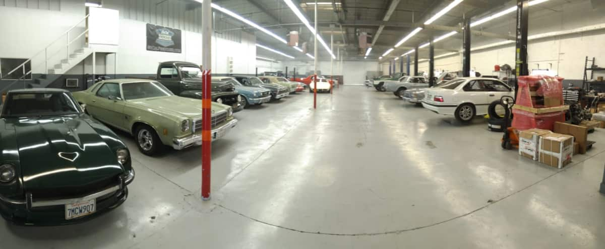 Classic car showroom and repair - 10 000 square foot in gardena Hero Image in undefined, gardena, CA