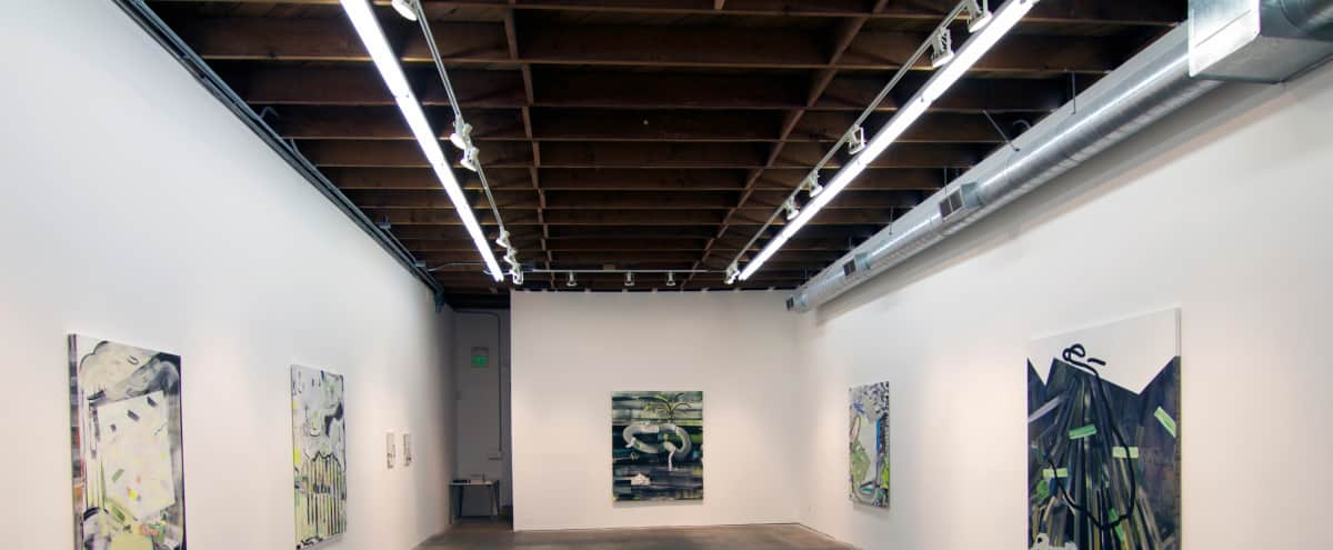 Stunning Culver City Contemporary Art Gallery with Outdoor Space in Los Angeles Hero Image in Culver City, Los Angeles, CA