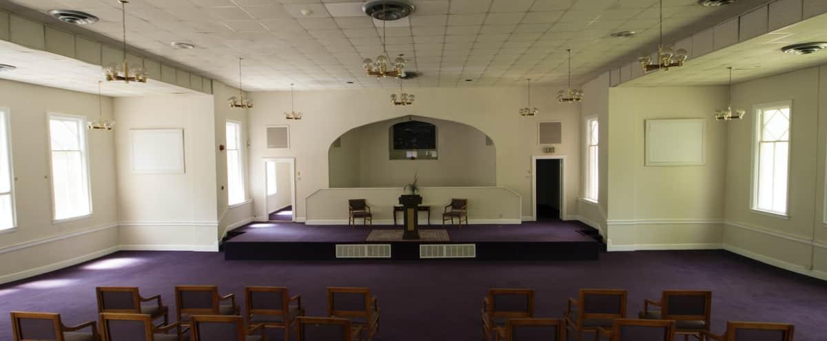 Old Historic Church Sanctuary & Arts Building in Candler Park in Atlanta Hero Image in Candler Park, Atlanta, GA