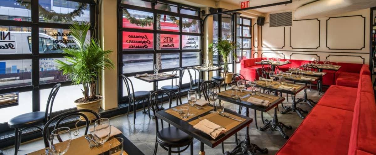Trendy Italian Restaurant In Vibrant Neighborhood