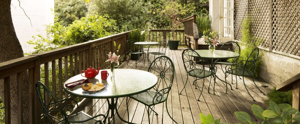 Charming Outdoor Patio in San Francisco Hero Image in Lower Nob Hill, San Francisco, CA