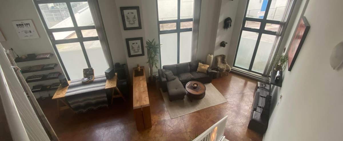Large 16 foot ceiling windows LOFT. in Vancouver Hero Image in East Vancouver, Vancouver, BC
