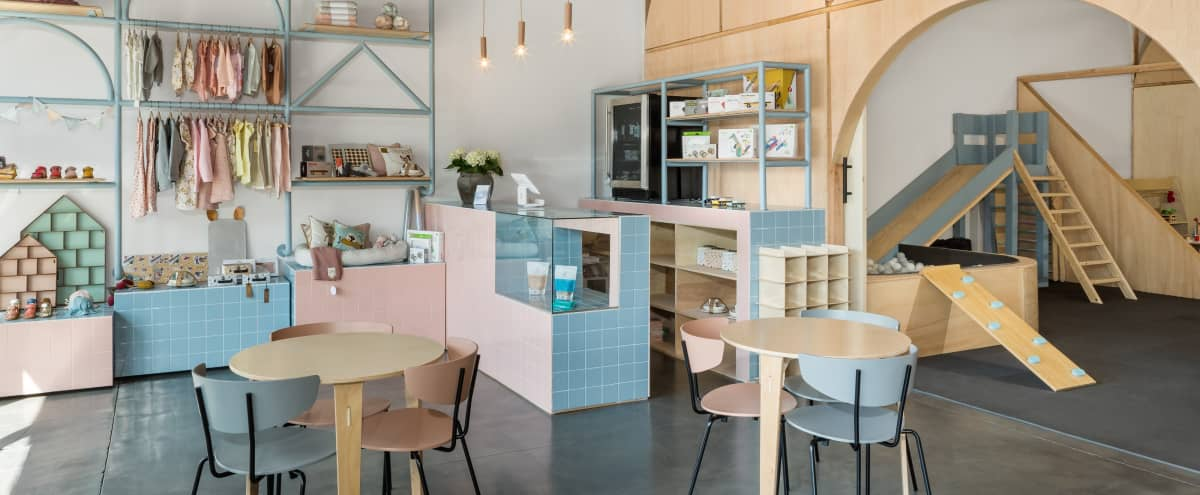 Inspired Creative Studio with Front-Window Retail, Indoor Playground, and Work Space in Santa Monica Hero Image in Sunset Park, Santa Monica, CA