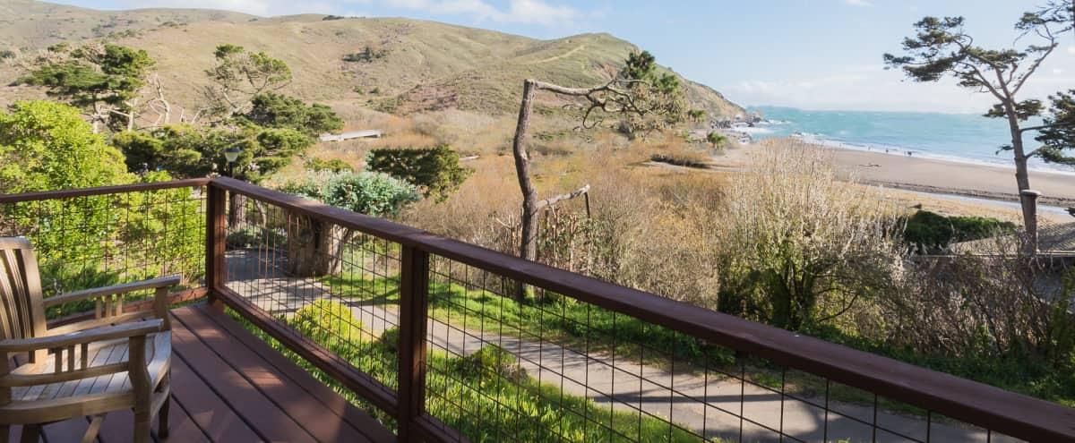 Beachfront Retreat with Ocean Views in Muir Beach Hero Image in undefined, Muir Beach, CA