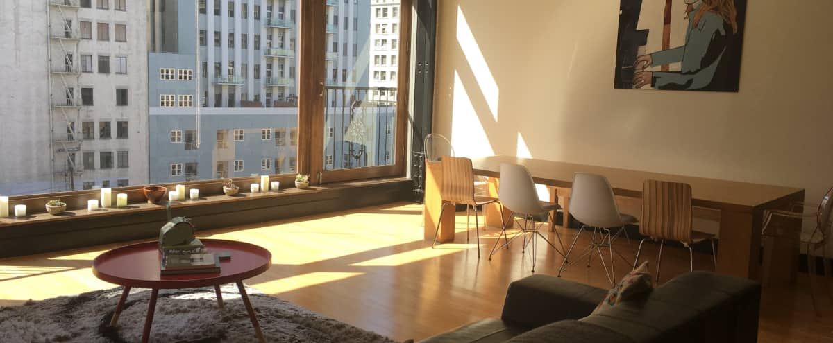 Large Open Loft DTLA Bursting with Natural Light and City Views - Available With Catering (Live Chef) in Los Angeles Hero Image in Central LA, Los Angeles, CA