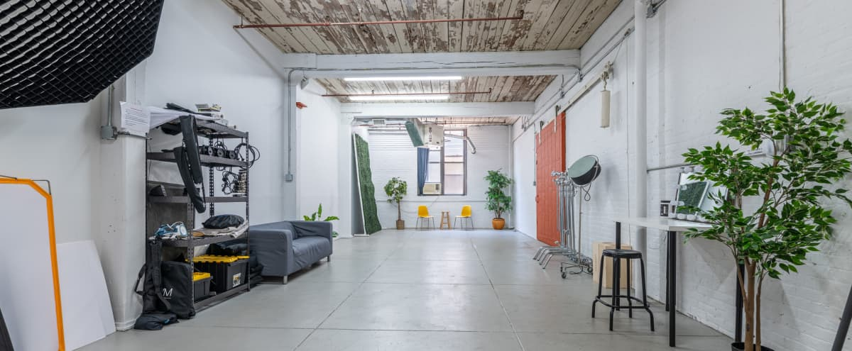 Spacious Industrial Photo Studio with Tons of Equipment included in Brooklyn Hero Image in Greenwood Heights, Brooklyn, NY