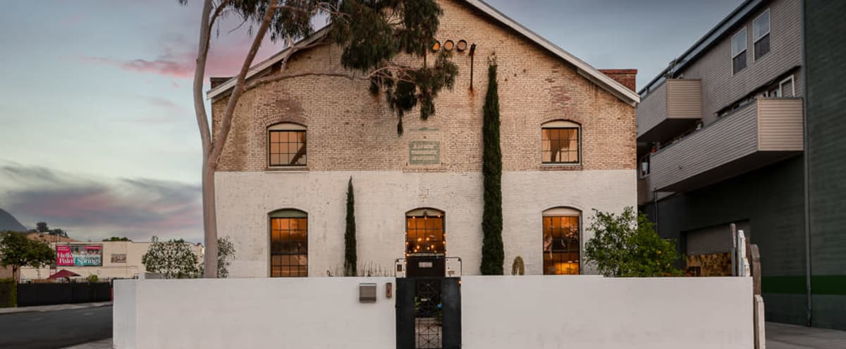 STUNNING Loft-like Historic Treasure, 1906 Built Huron Substation Creative Space for Film, Photo & Meetings, north of DTLA in Los Angeles Hero Image in Northeast Los Angeles, Los Angeles, CA