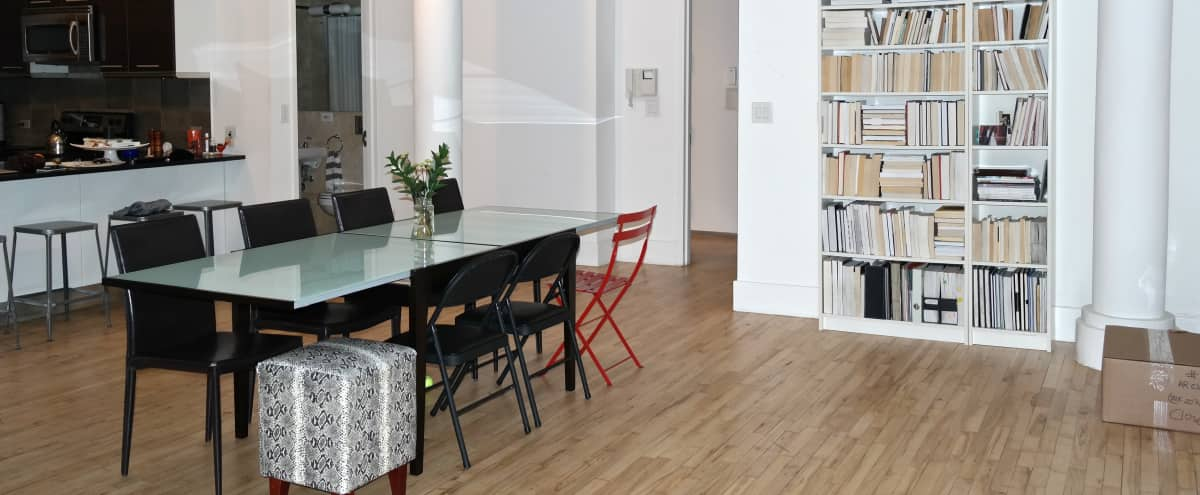 Spacious Loft with Residential Vibe & Piano in New York Hero Image in Midtown, New York, NY