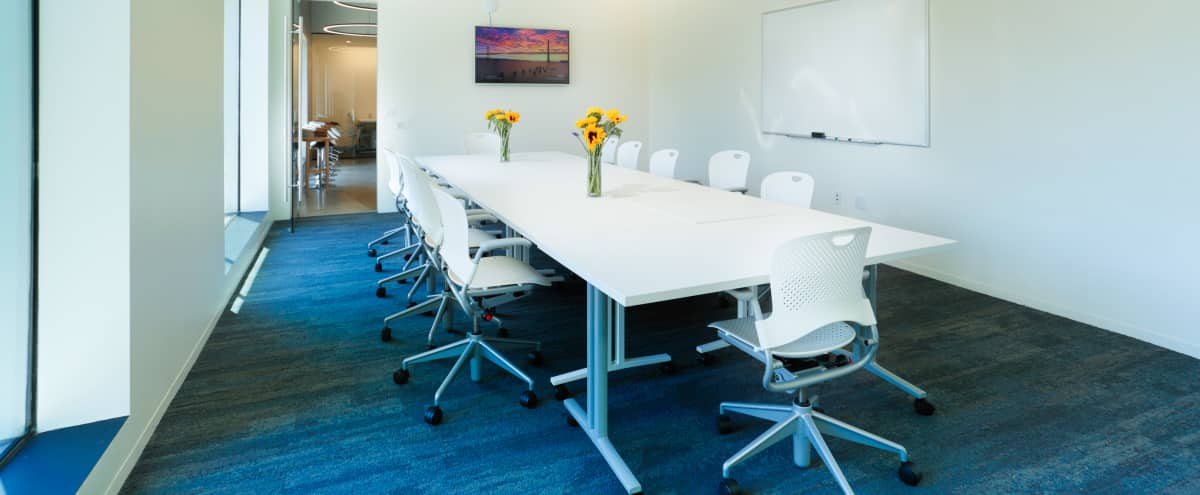 Bright, Large Conference Room w/ Whiteboard & TV in Los Angeles Hero Image in West Los Angeles, Los Angeles, CA