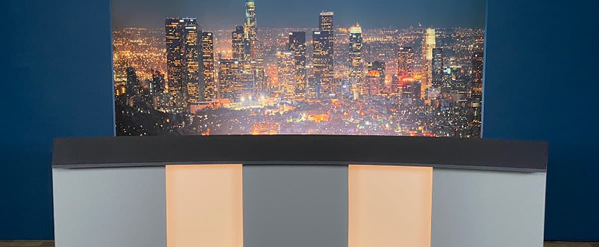 TV Newsroom Set in Burbank Hero Image in undefined, Burbank, CA