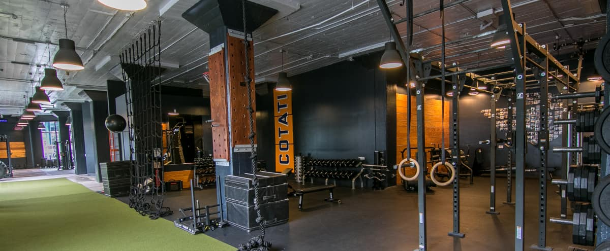 Modern Loft Fitness Facility in SoMa in San Francisco Hero Image in South of Market, San Francisco, CA