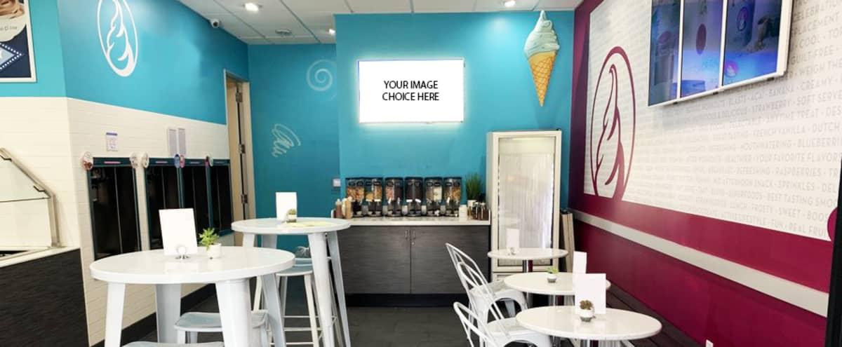 Bright, Vibrant, and Inviting Smoothie Bar/Frozen Yogurt Shop in Santa Monica Hero Image in Downtown, Santa Monica, CA