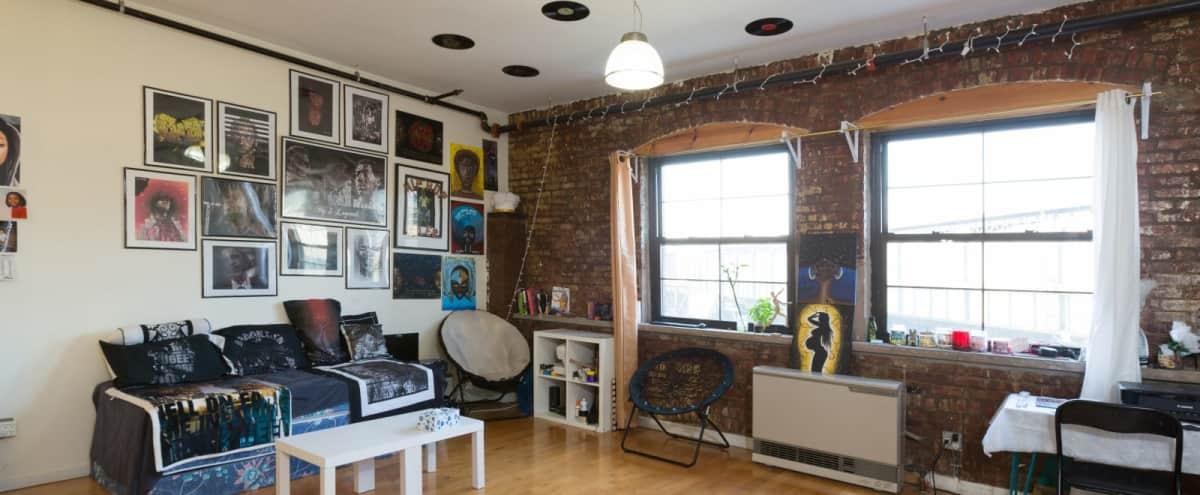 Amazing Loft in Bed-Stuy Brooklyn in Brooklyn Hero Image in Bedford-Stuyvesant, Brooklyn, NY