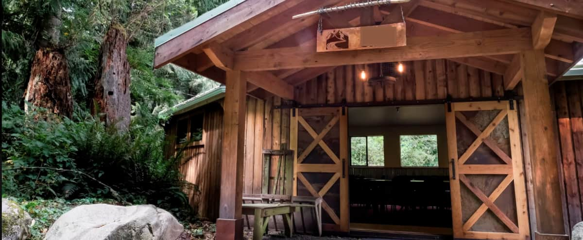 Spacious and Picturesque Ranch Surrounded by Nature on the Skykomish River in Index Hero Image in undefined, Index, WA