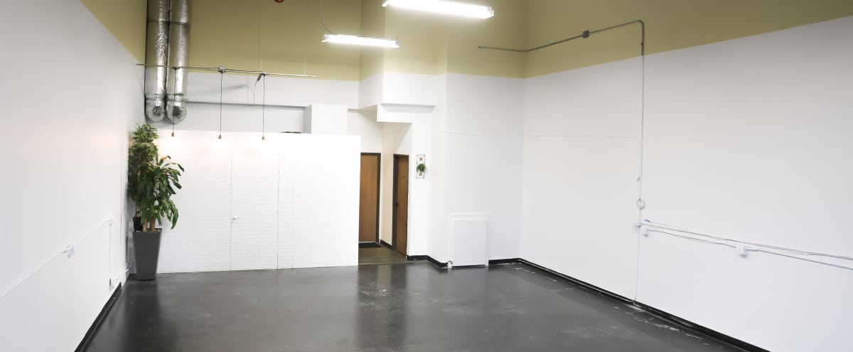 Bright Industrial Space with Sun Roof & Flood Lights in Orange Hero Image in undefined, Orange, CA