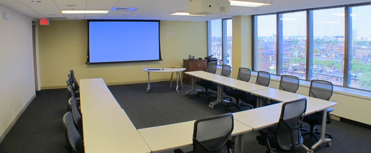 Meeting Room and Training Center - Newbury Room in Boston Hero Image in Back Bay, Boston, MA