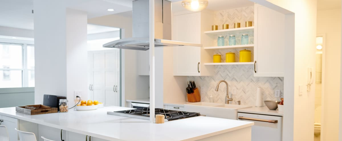 Sunny Renovated Kitchen for Shoots - Upper East Side in New York Hero Image in Upper East Side, New York, NY