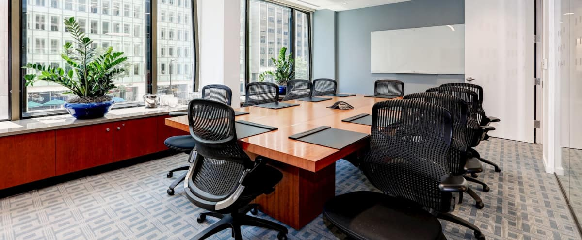 Freshly renovated Boardroom on the famous Pennsylvania Avenue in Washington Hero Image in Northwest Washington, Washington, DC