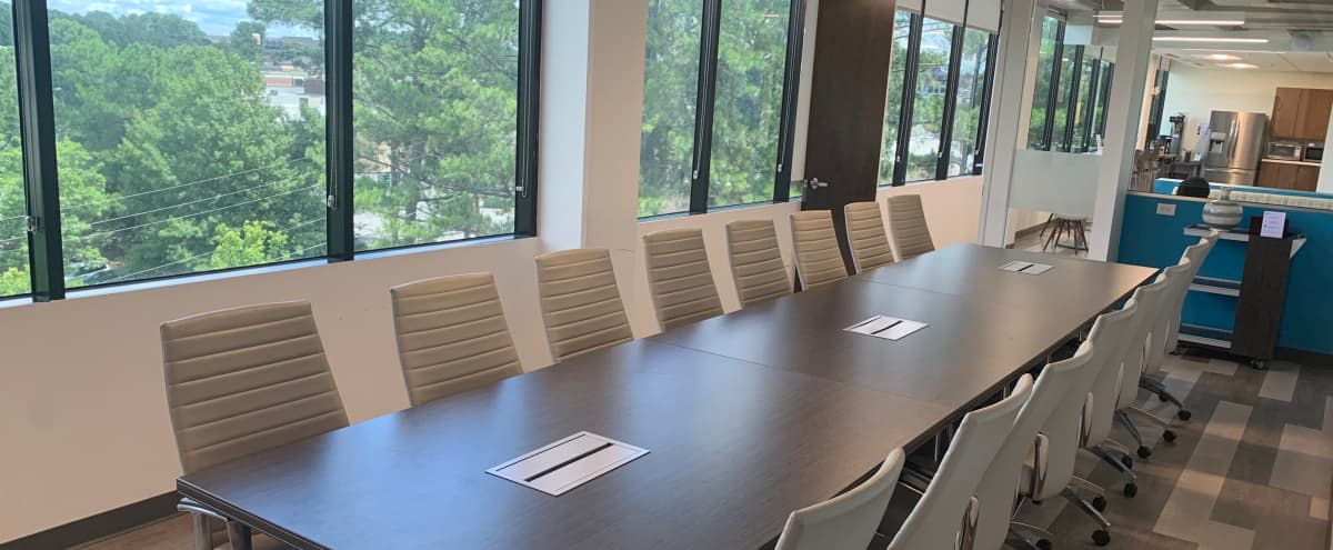 16 Person Executive Board Room in Creative Space Located in Dunwoody in Atlanta Hero Image in undefined, Atlanta, GA