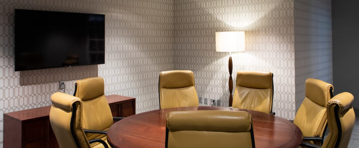 Strategy Room | Available for Filmed Interviews in Seattle Hero Image in Downtown, Seattle, WA