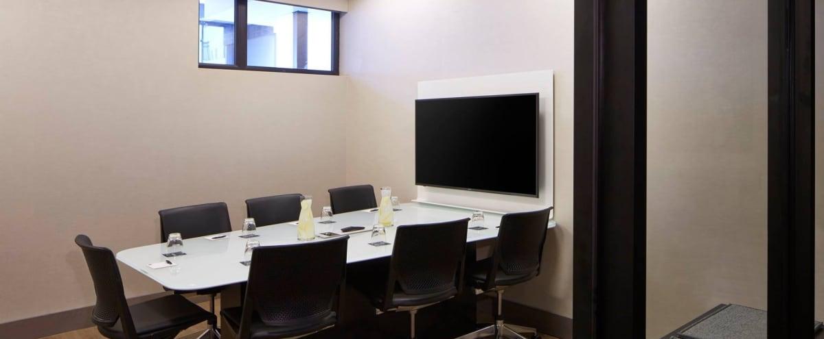 Equipped Meeting Room for 7 in Bellevue Hero Image in West Bellevue, Bellevue, WA