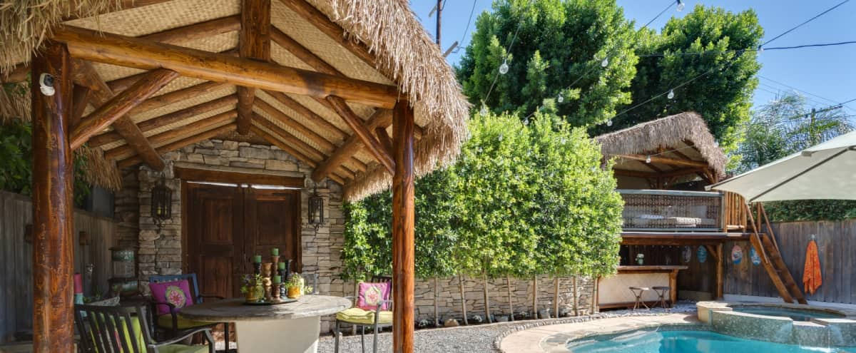 Spanish/Mediterranean Oasis in Studio City Hero Image in Studio City, Studio City, CA