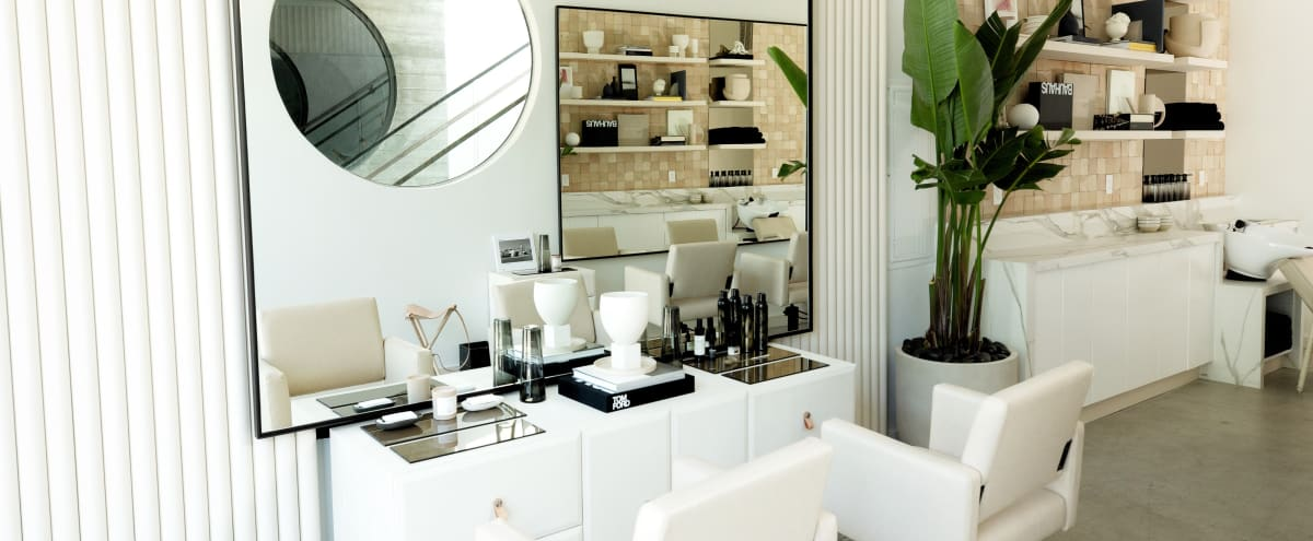 Bright Luxury Modern Hair Salon in West Hollywood Hero Image in Central LA, West Hollywood, CA