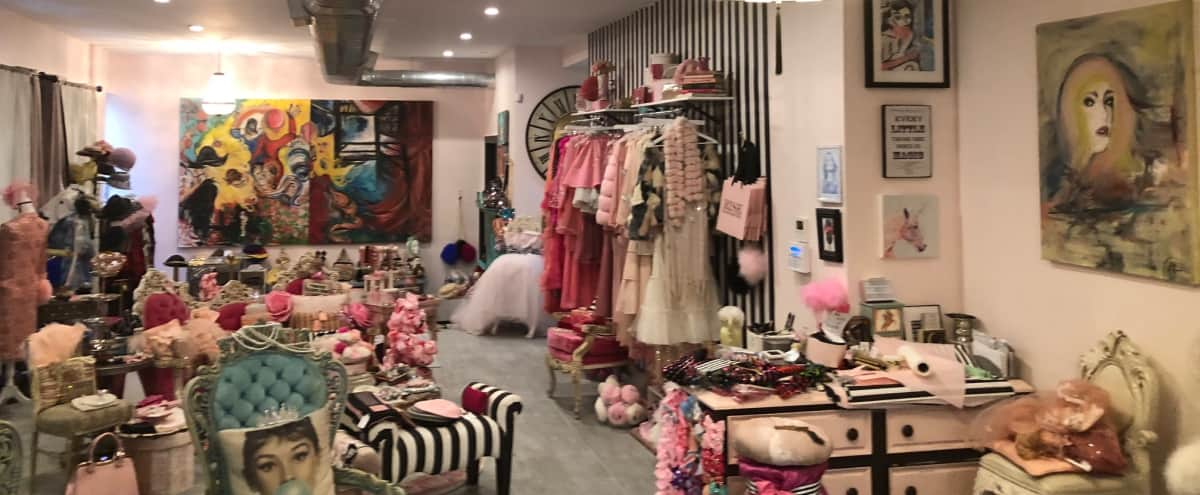 Spacious Beautiful and Elegant Art Gallery & Clothing Boutique in Brooklyn Hero Image in Bushwick, Brooklyn, NY
