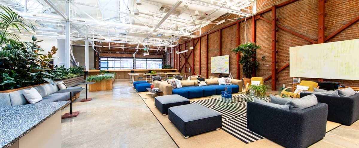 Former 1920's coffee factory, warehouse style lounge in Arts District in Los Angeles Hero Image in Central LA, Los Angeles, CA