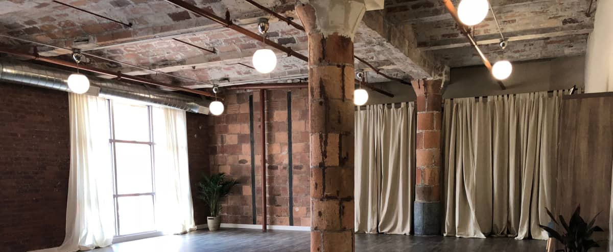 Spacious Loft Yoga Studio in Brooklyn Hero Image in Vinegar Hill, Brooklyn, NY