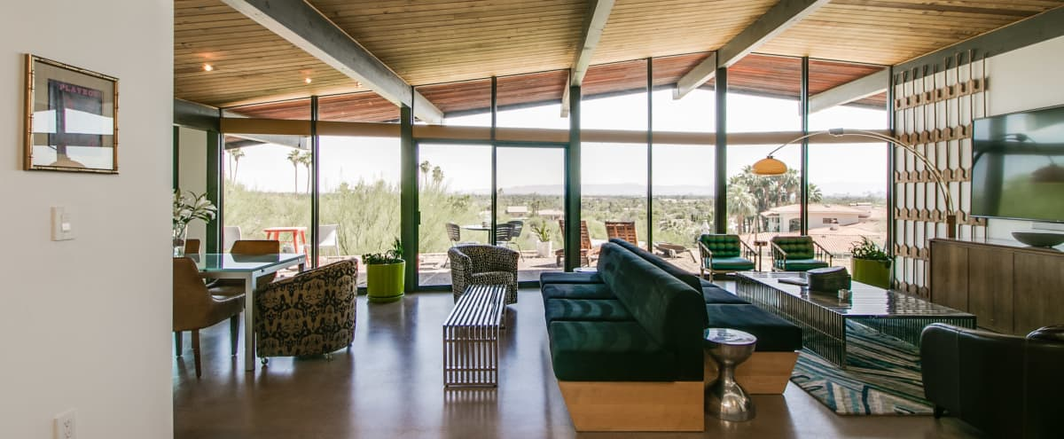 Iconic Hillside Mid-Century Modern Home in Paradise Valley Hero Image in Paradise Valley Village, Paradise Valley, AZ