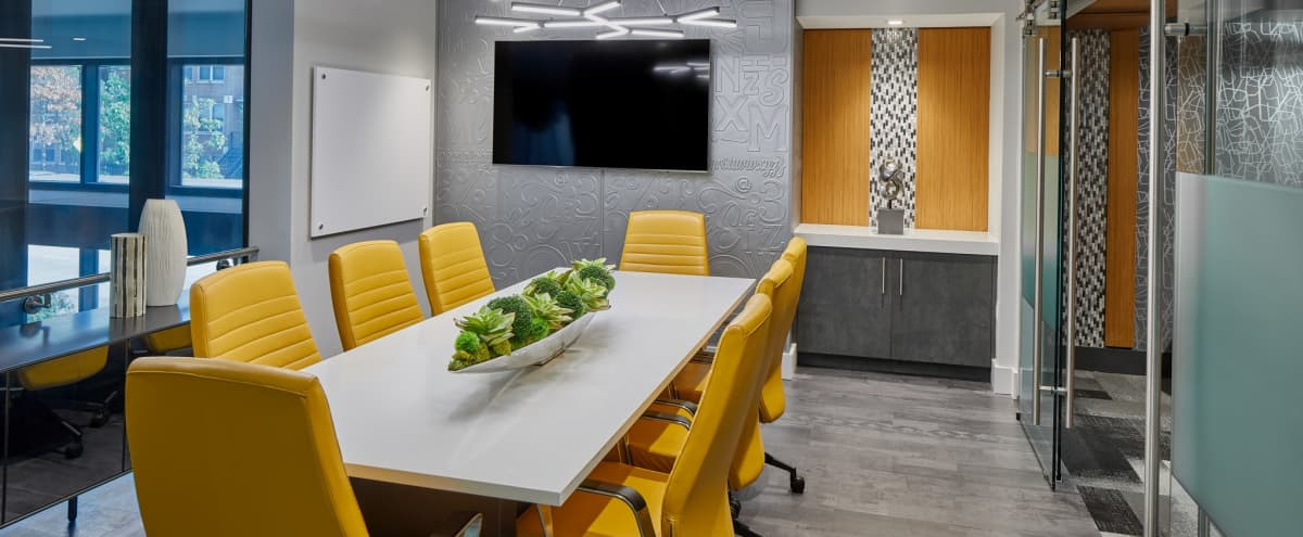 Colorful Conference Room with Breakout Space in Washington Hero Image in Columbia Heights, Washington, DC