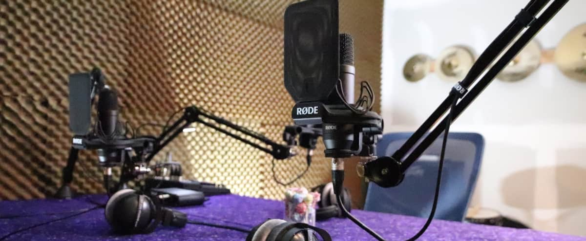 'Private' Podcast Studio, Soundroom, Instrument Recording, Voiceovers - Creative Space w/Video and Audio avail. in Sherman Oaks / Los Angeles Hero Image in Sherman Oaks, Sherman Oaks / Los Angeles, CA