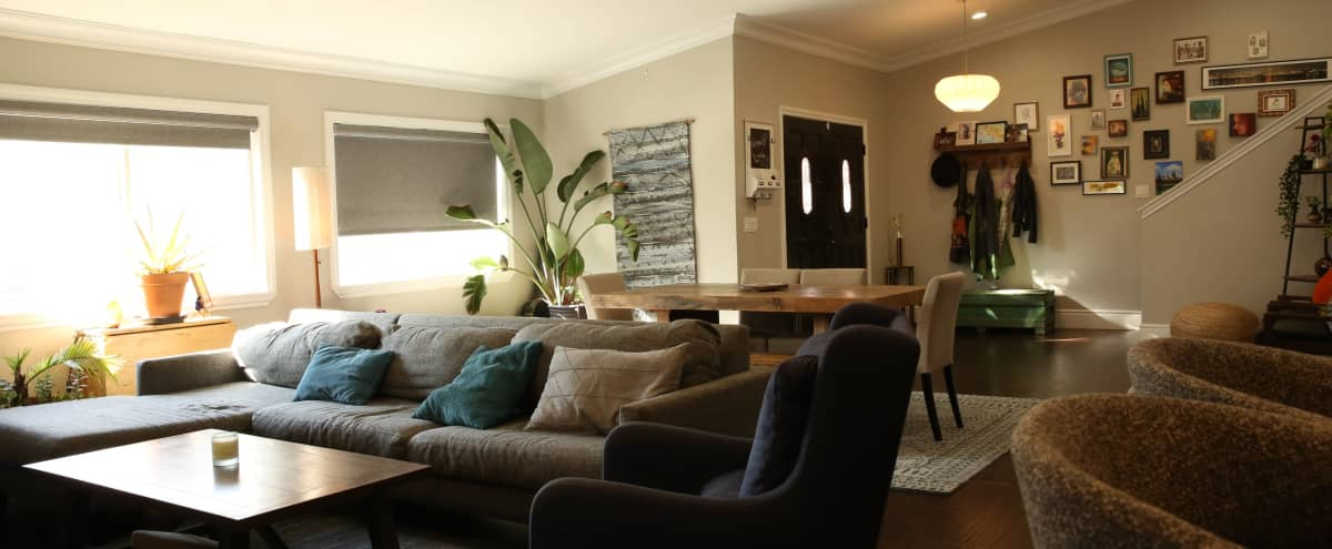 Modern Family Home with Huge Living Room in Los Angeles Hero Image in Northeast Los Angeles, Los Angeles, CA