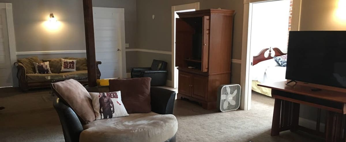 Downtown Spacious Loft Apartment in Grantville Hero Image in undefined, Grantville, GA