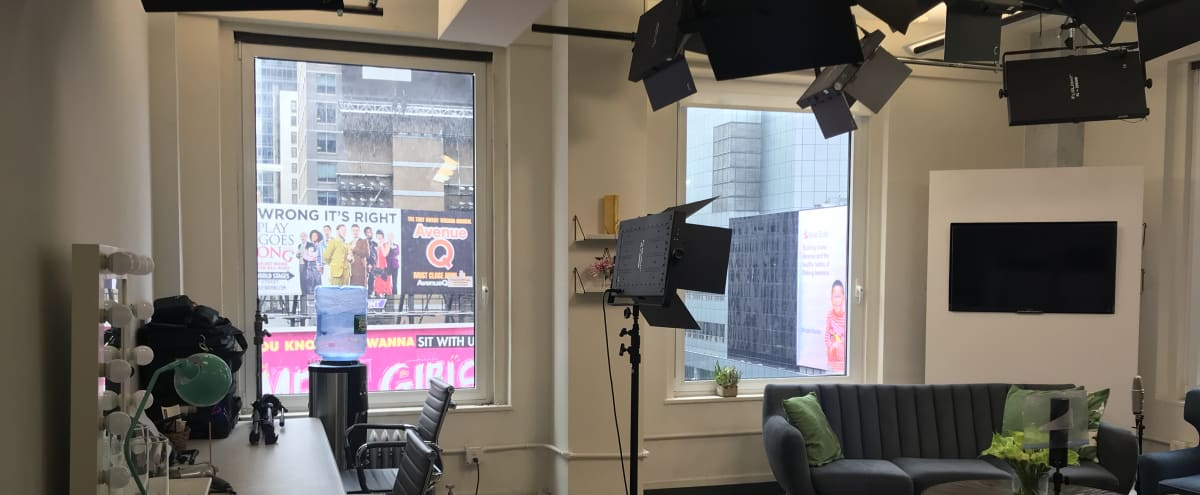 Times Square Production Studio in New york Hero Image in Midtown, New york, NY