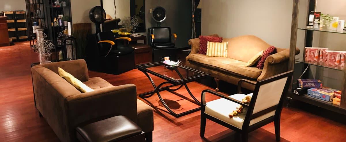 Elegant Salon with Lofted Ceilings in the Heart of Wallingford in Seattle Hero Image in Wallingford, Seattle, WA