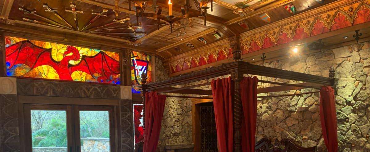 Gorgeous Renaissance Garden & Medieval Cottage in Austin Hero Image in Shady Hollow, Austin, TX