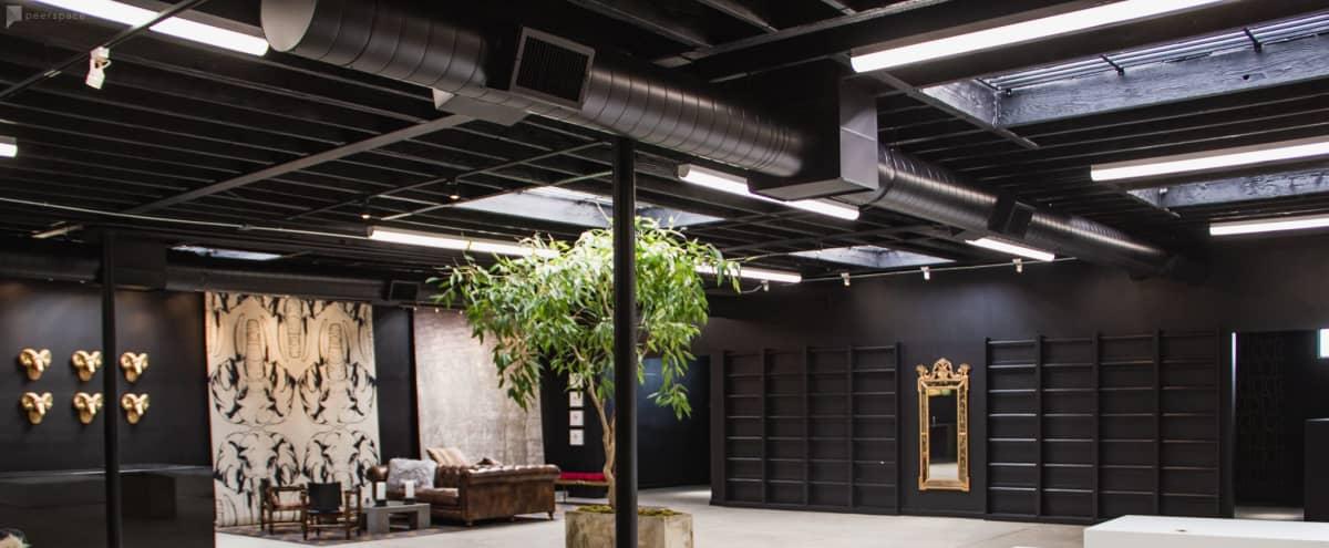 West Adams Industrial Gallery with Outdoor Zen Garden in LOS ANGELES Hero Image in Crenshaw, LOS ANGELES, CA