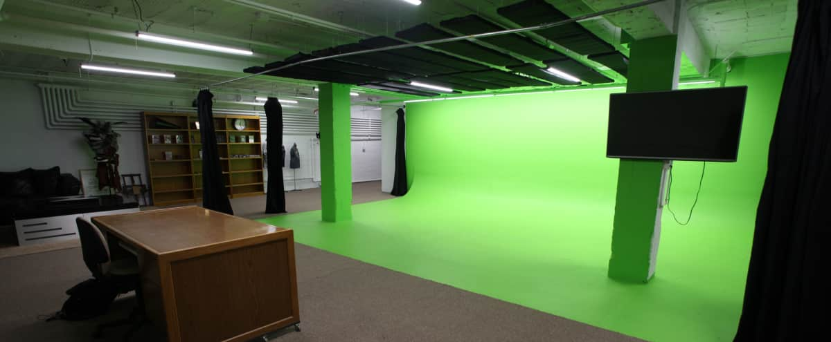 Cyc green screen studio in the heart of the Twin Cities in St. Paul Hero Image in St. Anthony Park, St. Paul, MN