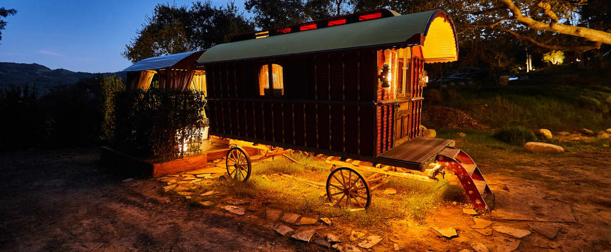 NEW! The Gypsy Wagon Compound in Topanga with Stunning Views in Topanga Hero Image in undefined, Topanga, CA