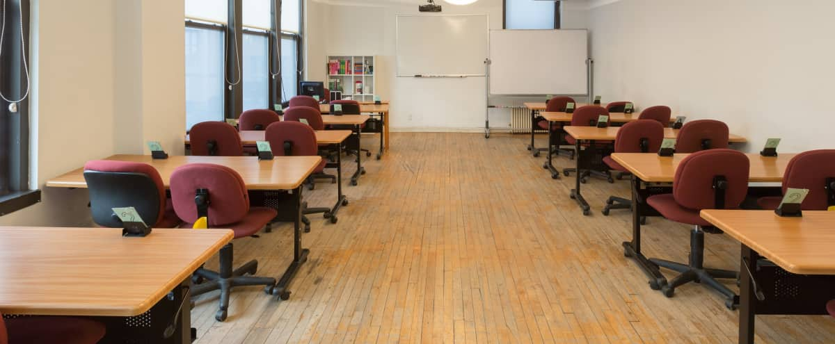 Corporate Event / Classroom Space In Chelsea - Room 7-1 in New York Hero Image in Midtown, New York, NY