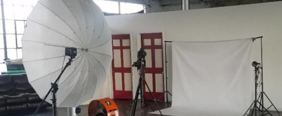 Large Photo and Video Design Studio located in an impressive space of over 5000 square ft and over 13 ft. height ceilings in Paterson Hero Image in undefined, Paterson, NJ
