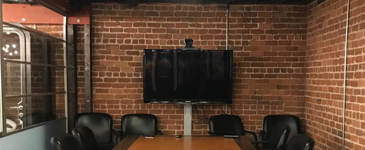 Private Meeting Room for 10 - available for small productions in San Francisco Hero Image in South Beach, San Francisco, CA