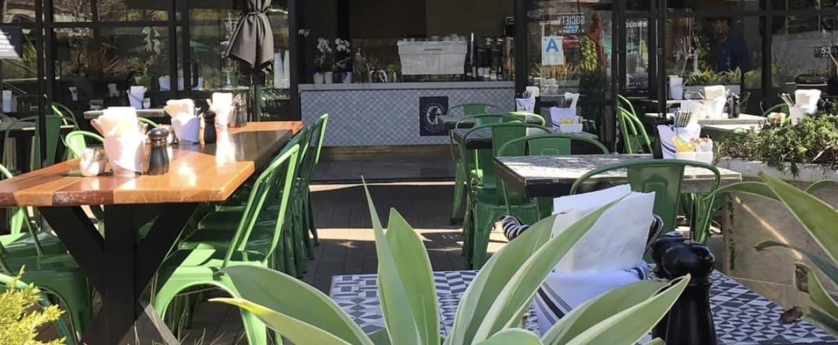 Trendy Santa Monica Cafe in Santa Monica Hero Image in Sunset Park, Santa Monica, CA