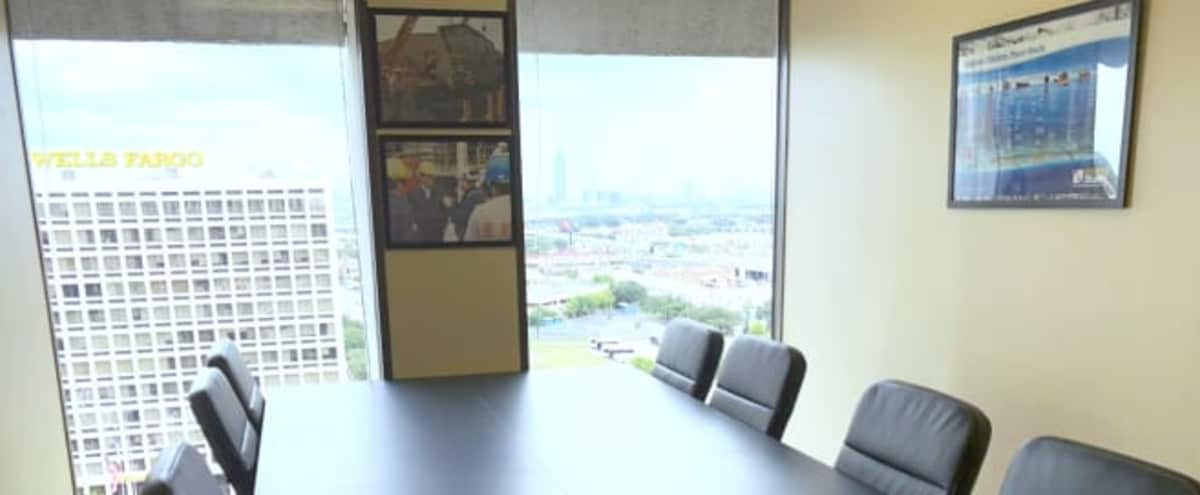 Private Conference Room Located near Galleria with Houston Skyline in Houston Hero Image in Sharpstown, Houston, TX