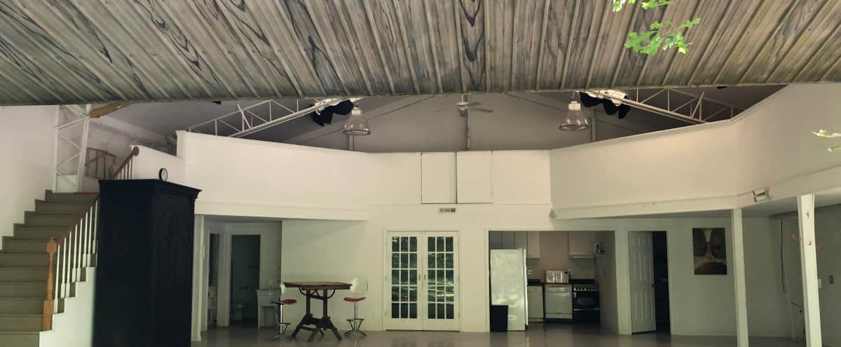 Spacious Airplane Hangar and 3 acres in the heart of Buckhead in Atlanta Hero Image in Buckhead, Atlanta, GA