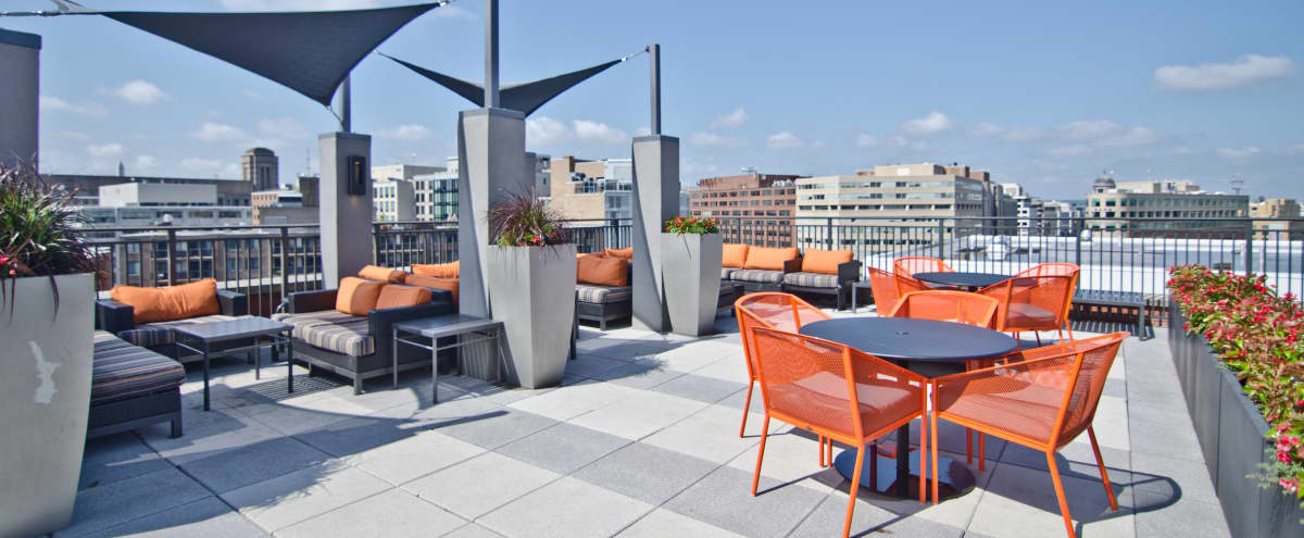 DC Rooftop with Expansive Views in Washington Hero Image in Northwest Washington, Washington, DC