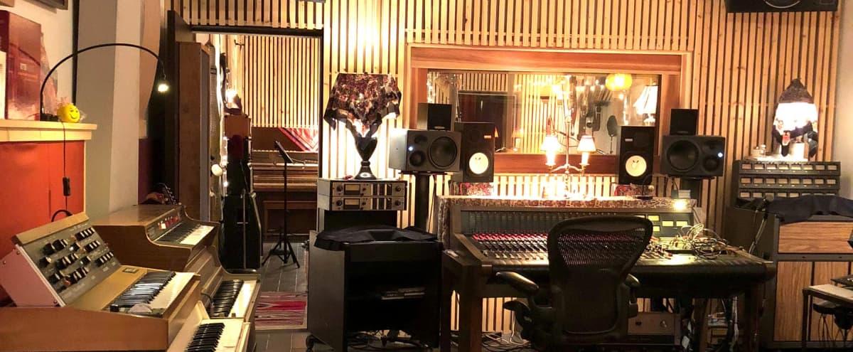 Amazing Vintage Rustic Post Modern Los Angeles Recording Studio in Los Angeles Hero Image in Boyle Heights, Los Angeles, CA