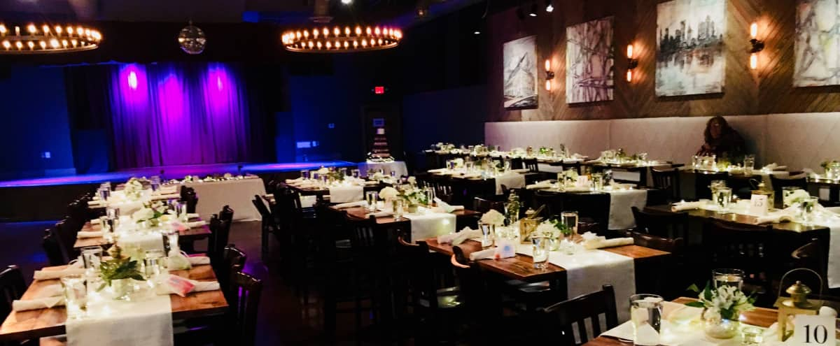 Centrally located Event Space With Full Bar, Stage, Pro Sound and Beautiful Decorations in Decatur Hero Image in undefined, Decatur, GA